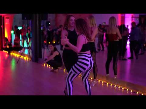 MAH01917 Social Dances with Anna & Anastasia @ ZofT UKDC OCT 2017 ~ video by Zouk Soul