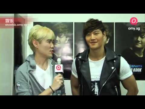 Kim Jong Kook interview after the Press Conference in Singapore