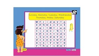 Days of the week worksheet  - kindergarten worksheet  - general knowledge