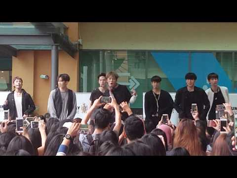 """271017 -  VAV performing """"She's Mine"""" in Malaysia (Live from Sunway University KL)"""