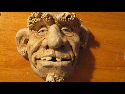 Sculpt a Face with Jonni s Home-Made Air Dry Clay