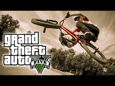 "GTA 5 CRAZY BMX STUNTS ""Observe"" (GTA 5 Stunts)"