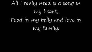 Raffi - All I Really Need