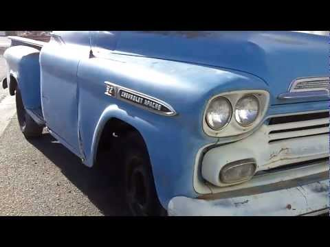 1959 Chevrolet Apache 3600 RARE Big Window For Sale Music Videos