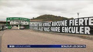 St Etienne : les supporters stéphanois très remontés contre les Verts