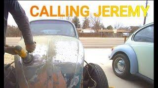1971 VW Beetle Bug Restoration auto vlog Ep 18 Metal Shavings in Oil