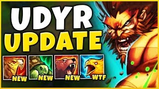 *NEW UPDATE* EVERY UDYR ABILITY IS NOW BROKEN (RANK 6 SPELLS) - League of Legends