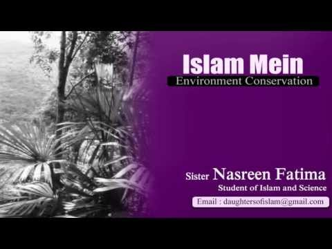 Islam Mein Enviroment Conservation