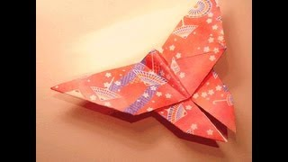 How To Make An Origami Butterfly (hd)