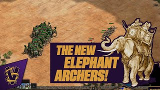 The New Elephant Archers! | 3v3 Arabia