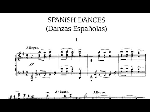 Гранадос Энрике - Danzas Espaolas Op 37 No 10 - Melanclica