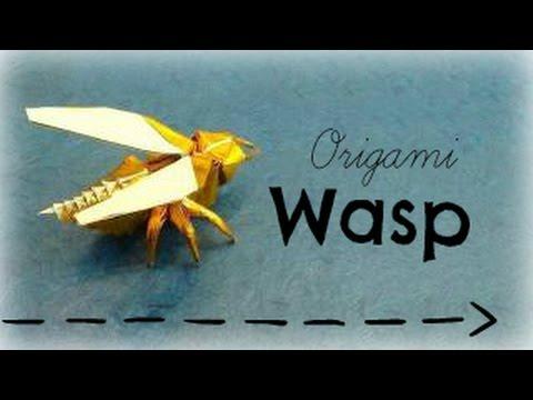 Муха оригами Origami-blog.net