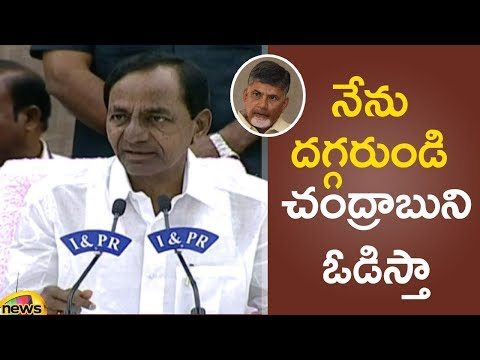 CM KCR Says Chandrababu Naidu will lose miserably in the next elections in AP | Mango News
