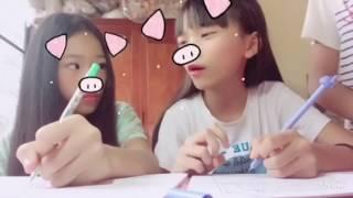 Vlog #1: Những thể loại bạn ngồi cùng bàn 🌸💦🐶👑