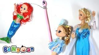 Buổi Câu Cá Nhớ Đời Của Chi Bi ~ Chị Em Barbie và Nàng Tiên Cá