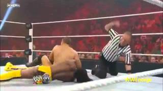 Kofi Kingston vs The Miz WWE championship tournament semi- finals 18/7/11