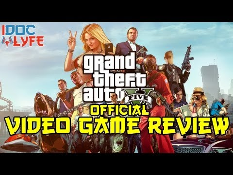 Grand Theft Auto V (GTA V) Review *iDCL