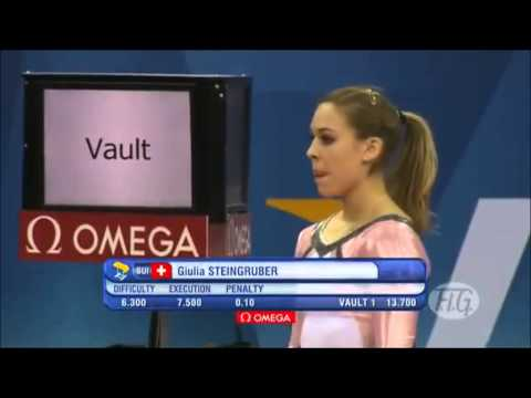Giulia Steingruber SUI EF VT 2012 Olympic Test Event