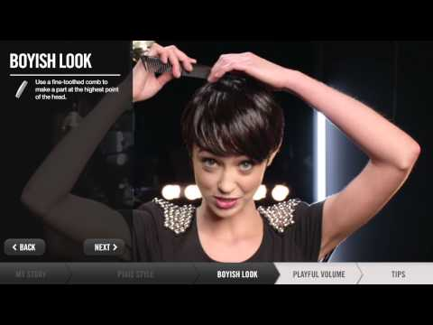 How To Create Short Hairstyles Pixie, Boyish, Playful Volume | Redken