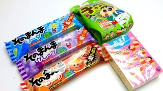 Crayon Shin Chan (クレヨンしんちゃん) Candies & Mini Mochi Sweets from Japan