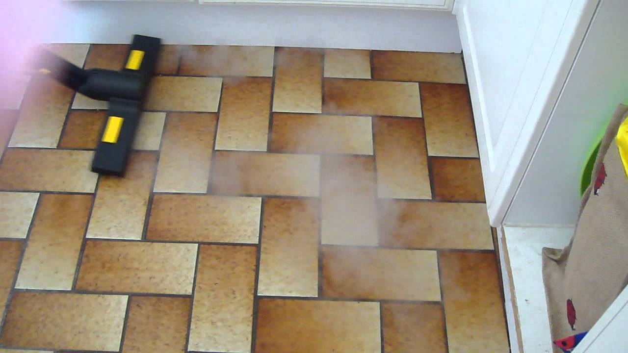 Kitchen floor tile cleaner