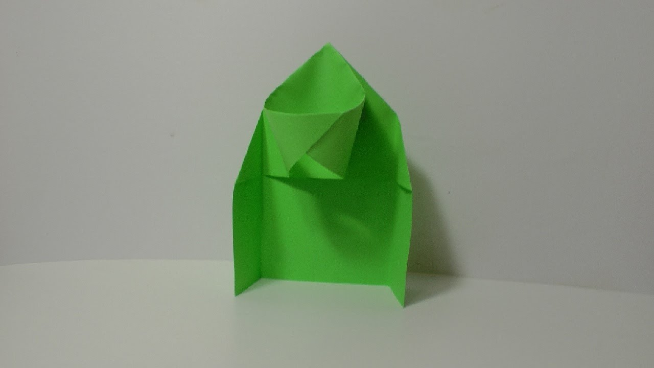 Origami basketball hoop instructions youtube for How to build a basketball goal