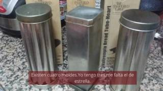MOLDES BREAD TUBE VALTROMPIA DE THE PAMPERED CHEF