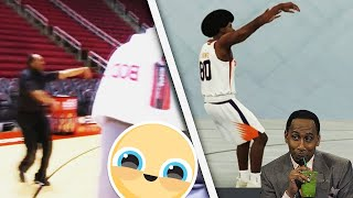 USING STEPHEN A SMITH JUMPSHOT ON NBA 2K19 NEIGHBORHOOD