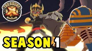 Treasure X | Season 1 FULL SERIES | Cartoons for Children