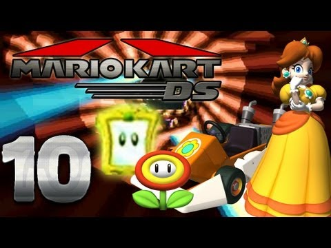 Let's Play Mario Kart DS Part 10: Blumen Cup Spiegel Modus
