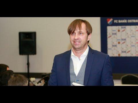 Záznam tiskové konference majitele Baníku Václava Brabce