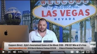 Cappers Nation Live - Saturday 7-20-19 Free MLB Sports Picks & UFC on ESPN 4