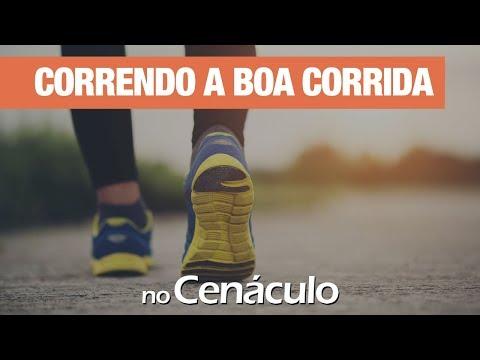 Correndo a boa corrida | no Cenáculo 30/08/2019