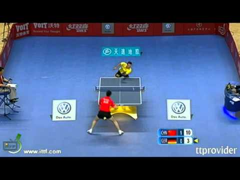China vs. World 2011: Ma Long-Timo Boll