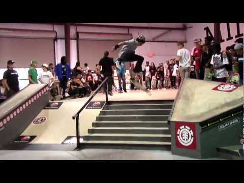 ELEMENT  ORLANDO  MAKE IT COUNT - 2012 INTERNATIONAL SKATE CONTEST SERIES