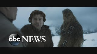 Exclusive 1st look at the trailer for 'Solo: A Star Wars Story'