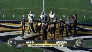 Towson Football rolls past North Carolina Central 31-20