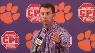 TigerNet.com - Swinney blasts reporter for trying to create
