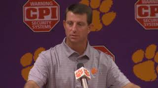TigerNet: Dabo Swinney on VT road trip