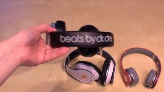 Monster Headphones Size Comparison (Beats by Dr. Dre Solo HD, Studio and Beats Pro)