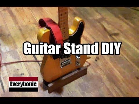 Cara Membuat Stand Gitar Sederhana