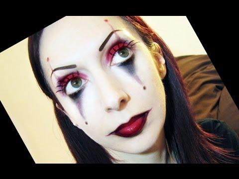 trucco carnevale clown o joker beautydea youtube
