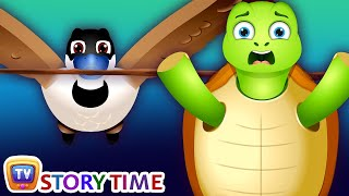 The Tortoise & The Geese - Good Habits Bedtime Stories & Moral Stories for Kids - ChuChu TV