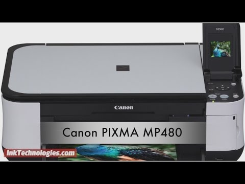 Canon PIXMA MP480 Instructional Video