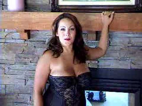 Busty Girls Audra Mitchell with Natural Breasts - YouTube