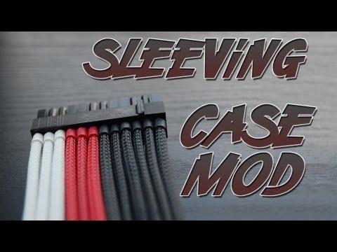 Case Mod - Sleeve de Cabos - Dê um UP no visual do seu PC!