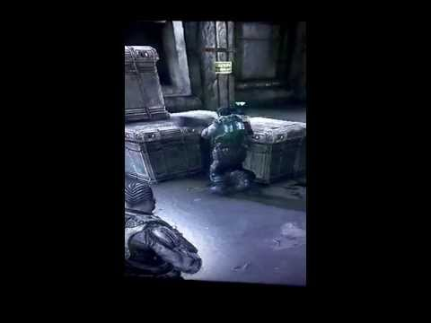 Gears of War 3 Glitch (Mini Samantha Byrne)