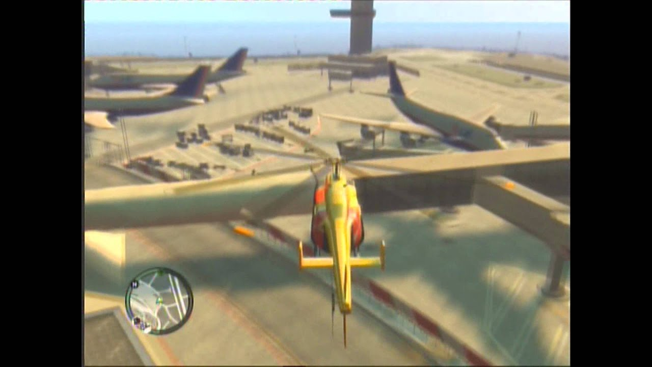 Elicottero Gta 5 : Gta come prendere l elicottero youtube
