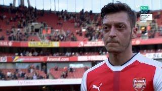 Mesut Özil vs Manchester United (Home) 16-17 HD 1080i [EPL]