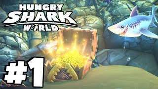 BRAND NEW STORY & MISSONS! | New Hungry Shark Game! | Hungry Shark World PS4 Version